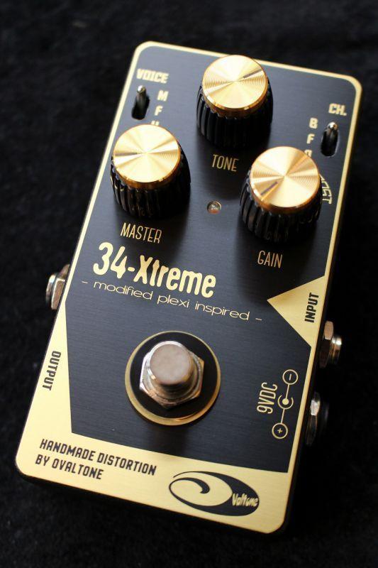 Ovaltone 34-Xtreme Distortion 【即納可能】【送料無料】 【新品】【池袋店在庫品】