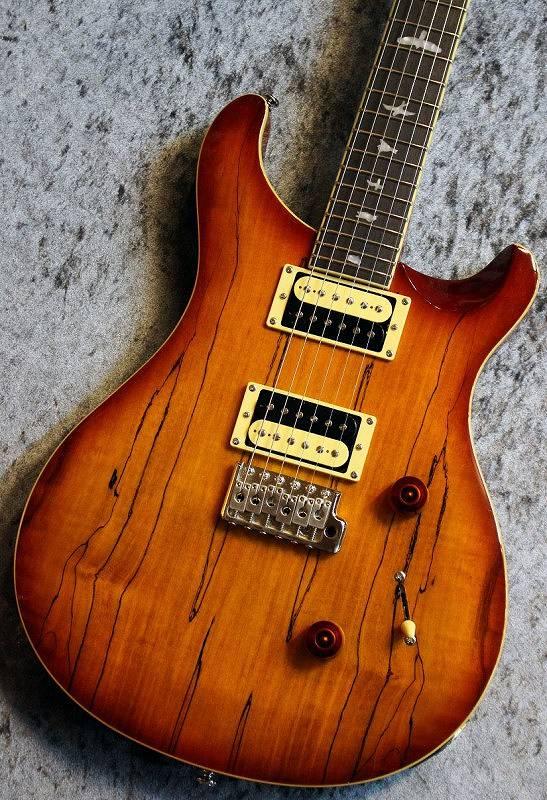 〔新品〕 Paul Reed Smith (PRS) SE Custom24 Spolted Maple Vintage Sunburst #S01370 【入門者おススメ】【良杢個体】【レアモデル】【池袋店在庫品】