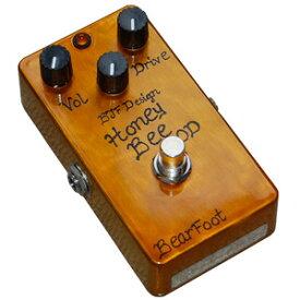BearFoot Guitar Effects Honey Bee OD《エフェクター/オーバードライブ》【送料無料】【ONLINE STORE】