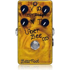 BearFoot Guitar Effects Uber Bee OD《エフェクター/オーバードライブ》【送料無料】【入荷時期未定・ご予約受付中】【ONLINE STORE】