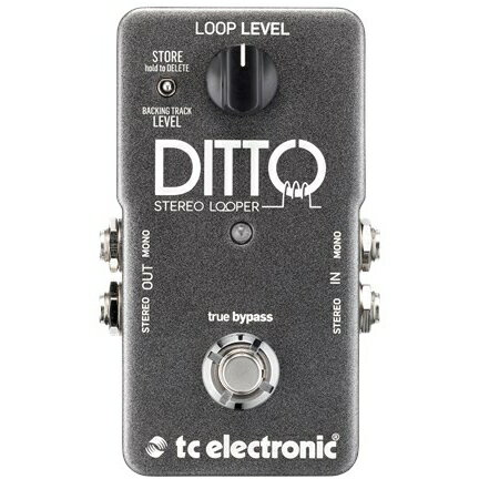 TC Electronic Ditto Stereo Looper 《エフェクター/ステレオ・ルーパー》【送料無料】【ONLINE STORE】
