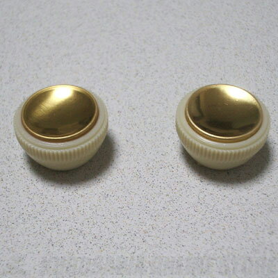 Montreux Selected Parts / Hofner style knob set (2個セット) [1012] 《パーツ・アクセサリー / ノブ》【ONLINE STORE】