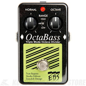 EBS OctaBass Studio Edition《ベース用エフェクター/オクターバー》【送料無料】【ONLINE STORE】