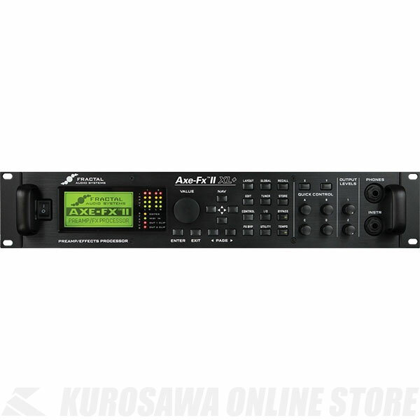 Fractal Audio Systems Axe-Fx II XL+ 《マルチエフェクター》 【送料無料】【ご予約受付中】【ONLINE STORE】