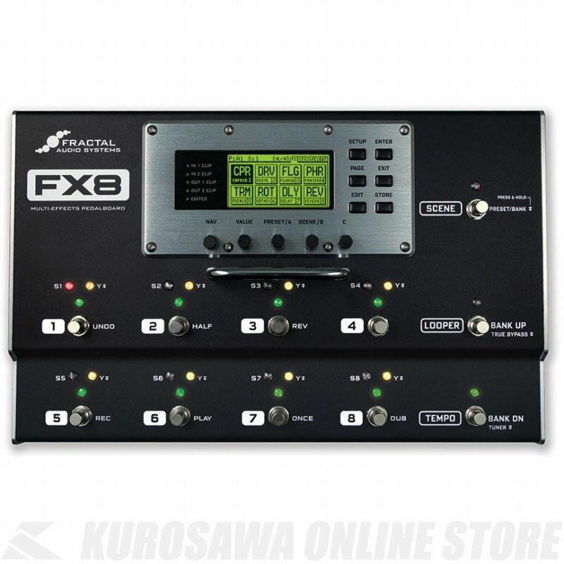Fractal Audio Systems FX8 《マルチエフェクター》 【送料無料】【ご予約受付中】【ONLINE STORE】