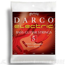 Martin Darco Electric Bass D9705L (Light 5st 45-125) 《5弦ベース弦》 【ネコポス】【日本総本店在庫品】 【ネコポス】