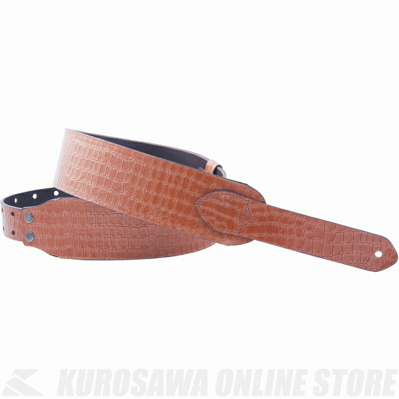 Right on! STRAPS STRAP COLLECTION WILD Series ALLIGATOR (Woody)《ストラップ》【受注生産品】【ONLINE STORE】