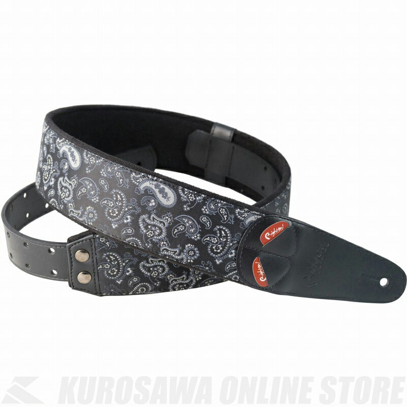 Right on! STRAPS STRAP COLLECTION MOJO Series PAISLEY (Black)《ストラップ》【ONLINE STORE】