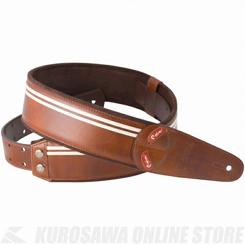 Right on! STRAPS STRAP COLLECTION MOJO Series RACE (Brown)《ストラップ》【ONLINE STORE】