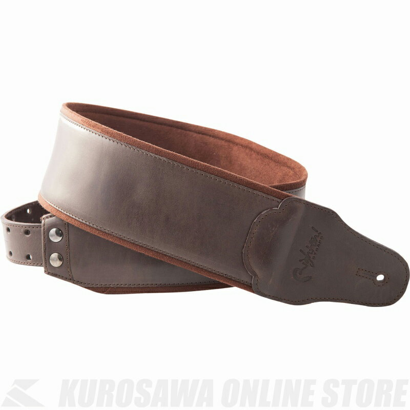 Right on! STRAPS STRAP COLLECTION BASS MAN Series SMOOTH (Brown)《ストラップ》【ONLINE STORE】