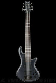 Schecter Diamond Series STILETTO STUDIO 6 See-thru Black Satin(STBLS)[AD-SL-ST6/STBLS]《6弦ベース》【送料無料】【ONLINE STORE】