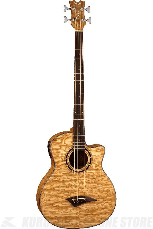 DEAN EXOTICA QUILT ASH BASS With APHEX (GN) [EQABA GN] 《アコースティックベース》【送料無料】【ONLINE STORE】