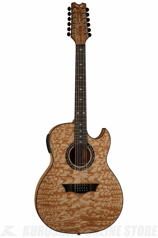 Dean Exhibition Quilt Ash 12 Str w/Aphex GN [EXQA 12 GN]《アコースティックギター/エレアコ》【送料無料】【お取り寄せ】【ONLINE STORE】