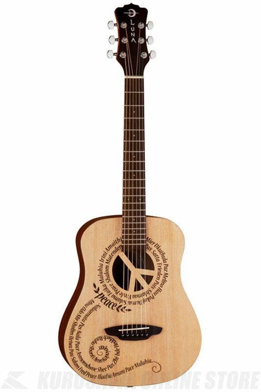 Luna Guitars Safari Series Peace [SAF PCE]《アコースティックギター》【送料無料】【お取り寄せ】【ONLINE STORE】