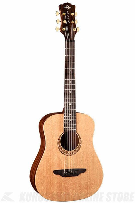 Luna Guitars Safari Series Supreme Solid Top [SAF SUPREME]《アコースティックギター》【送料無料】【お取り寄せ】【ONLINE STORE】