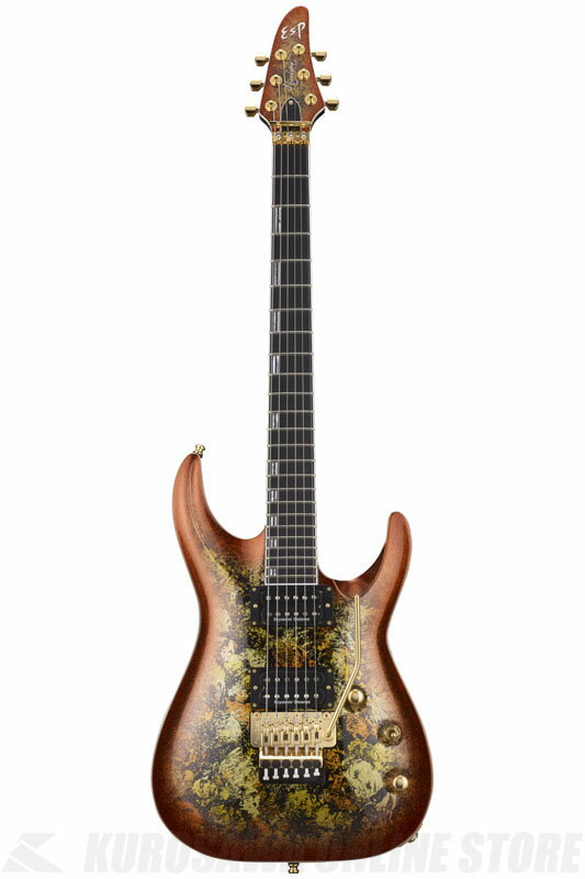 ESP HORIZON-PT FR Fireopal (Red Pearl Black) 《エレキギター》【受注生産品】【送料無料】【ONLINE STORE】
