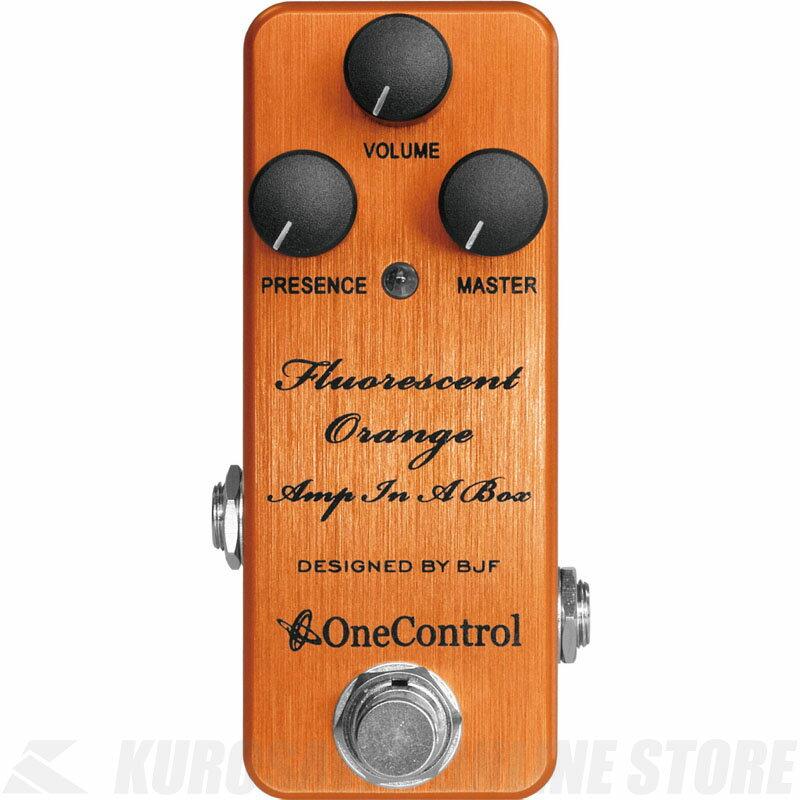 One Control Fluorescent Orange Amp In A Box 《エフェクター/オーバードライブ/ディストーション》【送料無料】【ONLINE STORE】