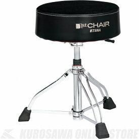 """TAMA 1 ST Chair ラウンドライダーXL 3脚ガスリフト""""クロストップ""""スローン [HT850BC]《ドラムスローン》【送料無料】(ご予約受付中)【ONLINE STORE】"""