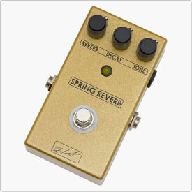 ZCAT Pedals Spring Reverb Spring Reverb Pedal 《エフェクター/リバーブ》【送料無料】【ONLINE STORE】
