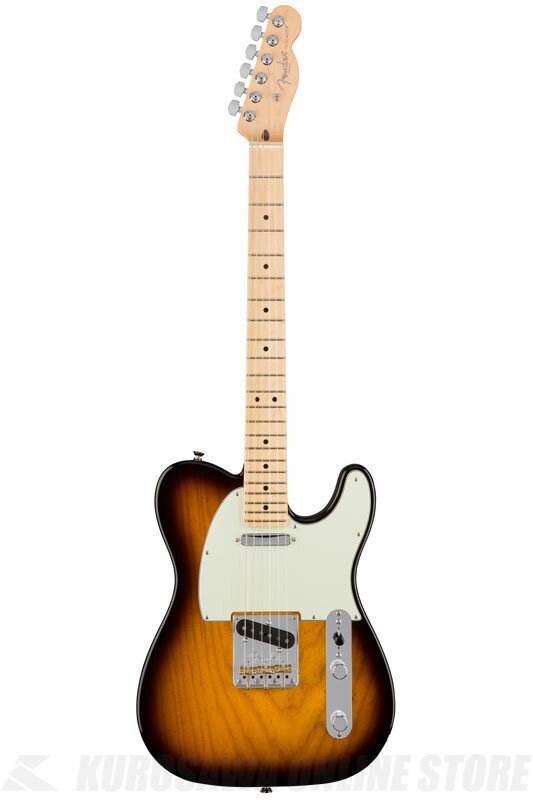 Fender American Professional Telecaster, Maple Fingerboard, 2-Color Sunburst《エレキギター/テレキャスター》 【送料無料】【ONLINE STORE】【2017冬キャンペーン】