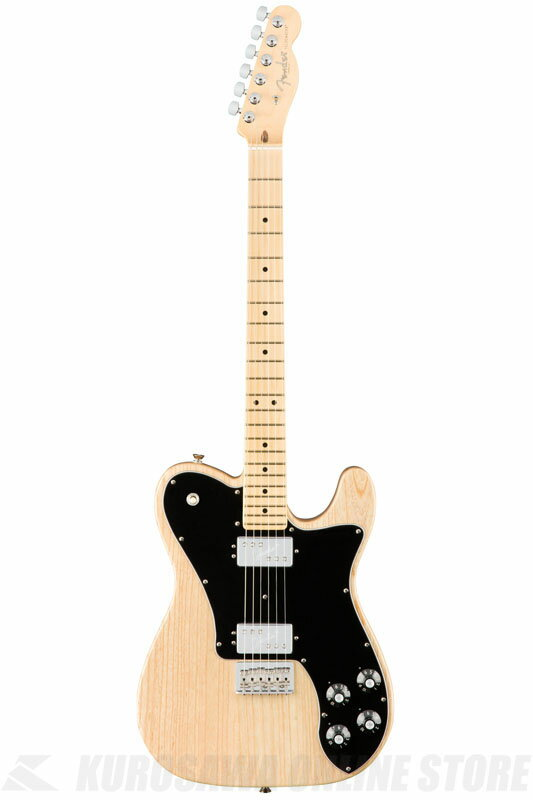 Fender American Professional Telecaster Deluxe Shawbucker, Maple Fingerboard, Natural《エレキギター/テレキャスター》 【送料無料】【ONLINE STORE】【2017冬キャンペーン】