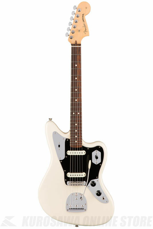 Fender American Professional Jaguar, Rosewood Fingerboard, Olympic White《エレキギター/ジャガー》 【送料無料】【ONLINE STORE】【2017冬キャンペーン】