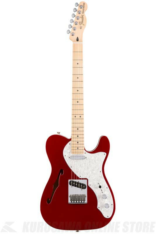 Fender Deluxe Telecaster Thinline, Maple Fingerboard, Candy Apple Red[0147602309]《エレキギター/テレキャスター》 【送料無料】(ご予約受付中)【ONLINE STORE】