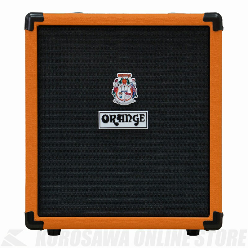 Orange Crush Pix 25 Watt Bass Amp Combo, 25 Watts Solid State [CRUSH 25B] (Orange) 《ベースアンプ/コンボアンプ》 【送料無料】【ONLINE STORE】