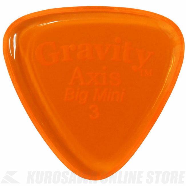 GRAVITY GUITAR PICKS GAXB3P (3.0mm, Orange) 《ピック》【ネコポス】【ONLINE STORE】