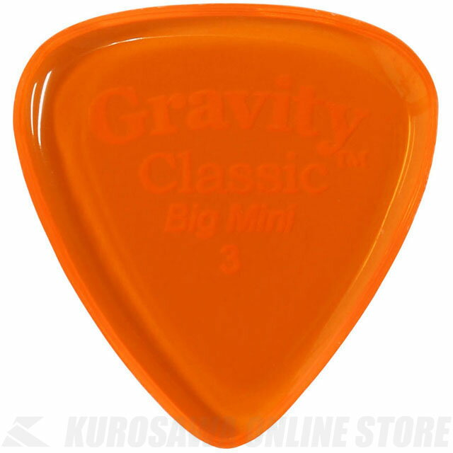 GRAVITY GUITAR PICKS GCLB3P (3.0mm, Orange) 《ピック》【ネコポス】【ONLINE STORE】