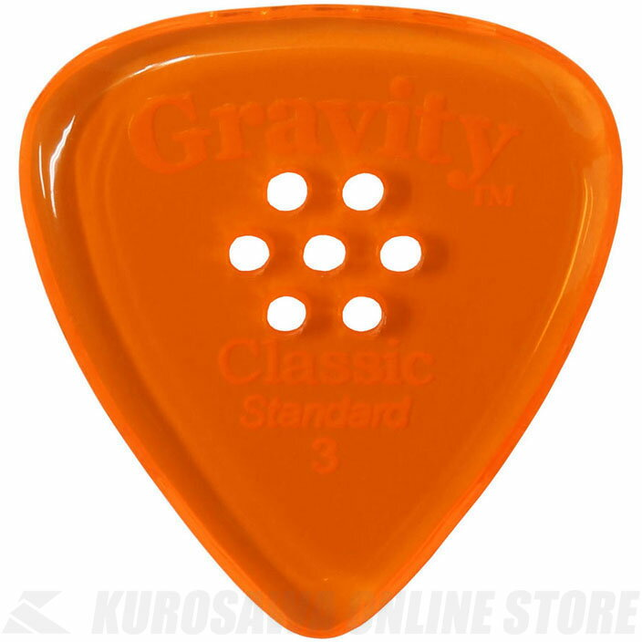 GRAVITY GUITAR PICKS GCLS3PM (3.0 mm with Multi-Hole, Orange) 《ピック》【ネコポス】【ONLINE STORE】