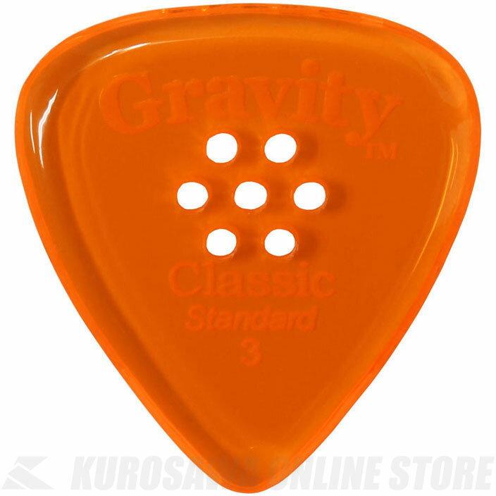 GRAVITY GUITAR PICKS GCLS3PM (3.0 mm with Multi-Hole, Orange) 《ピック》【ネコポス】【ONLINE STORE】