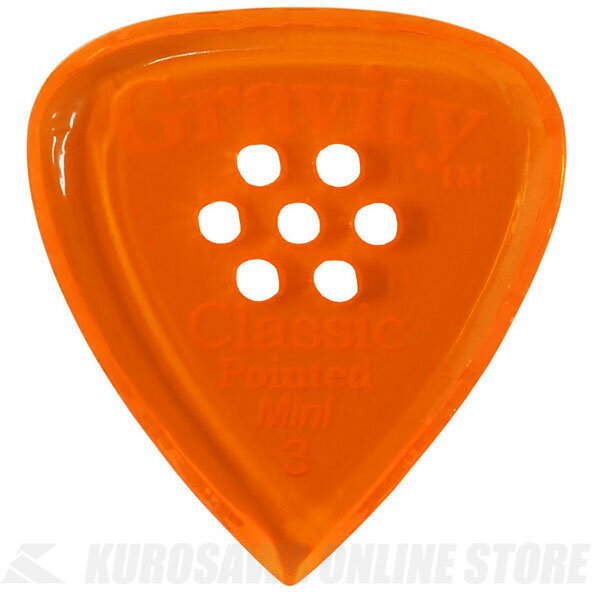 GRAVITY GUITAR PICKS GCPM3PM (3.0 mm with Multi-Hole, Orange) 《ピック》【ネコポス】【ONLINE STORE】