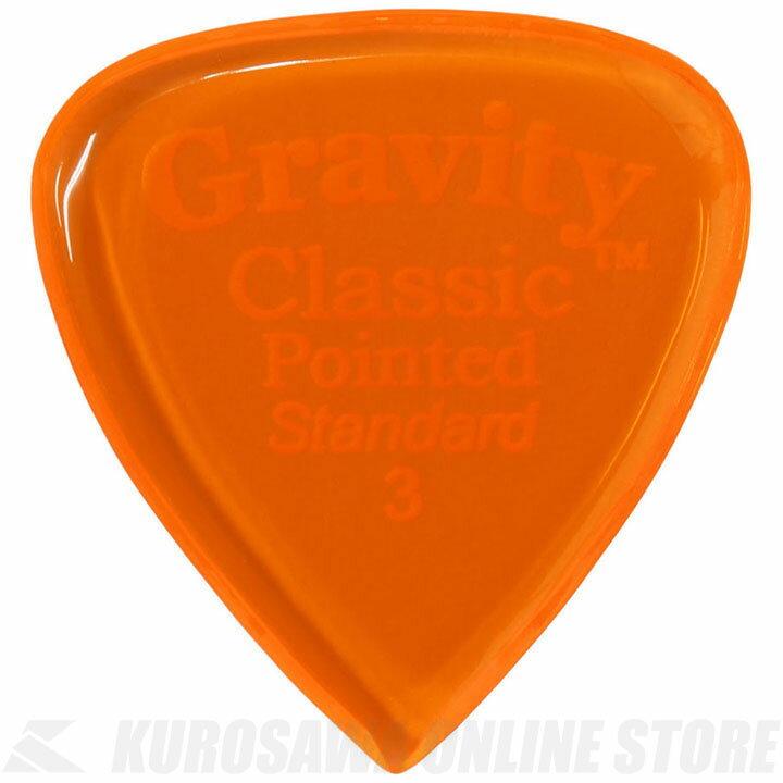 GRAVITY GUITAR PICKS GCPS3P (3.0mm, Orange) 《ピック》【ネコポス】【ONLINE STORE】