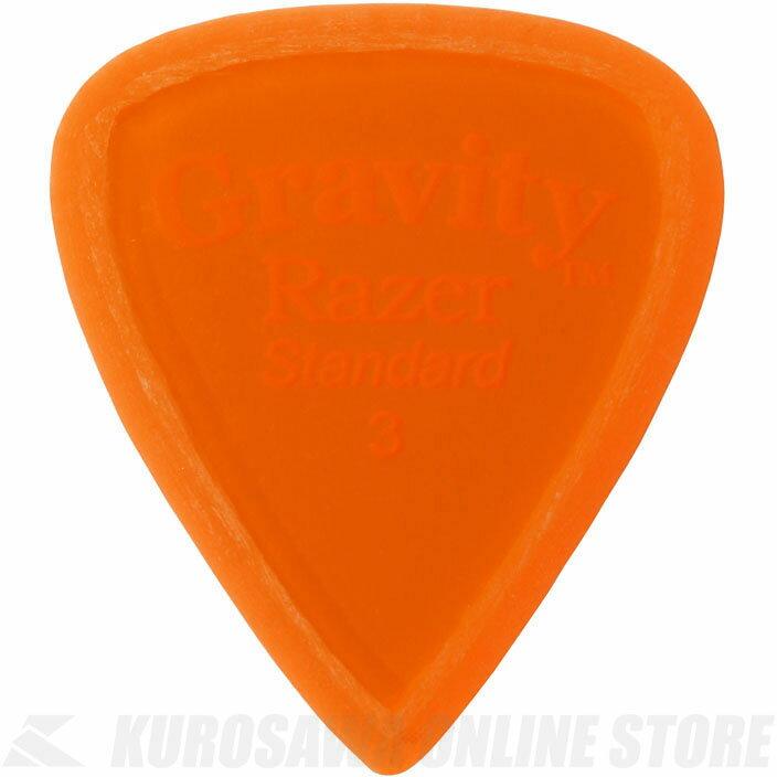 GRAVITY GUITAR PICKS GRAS3M (3.0mm, Orange, Master Finish(Unpolished)) 《ピック》【ネコポス】【ONLINE STORE】