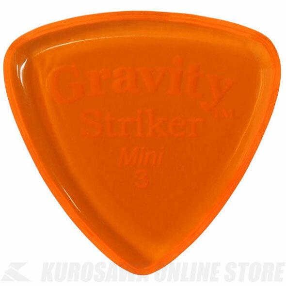 GRAVITY GUITAR PICKS GSRM3P (3.0mm, Orange) 《ピック》【ネコポス】【ONLINE STORE】