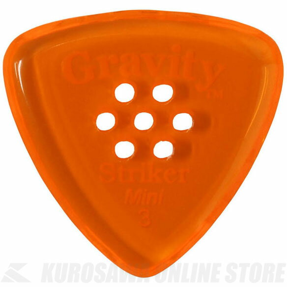 GRAVITY GUITAR PICKS GSRM3PM (3.0 mm with Multi-Hole, Orange) 《ピック》【ネコポス】【ONLINE STORE】