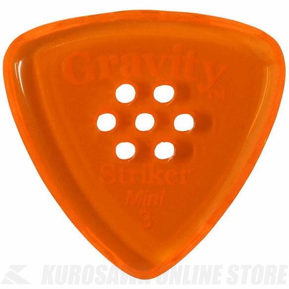 GRAVITY GUITAR PICKS GSRM3PM (3.0 mm with Multi-Hole, Orange) 《ピック》【ネコポス】【ONLINE STORE】