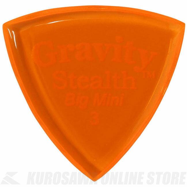GRAVITY GUITAR PICKS GSSB3P (3.0mm, Orange) 《ピック》【ネコポス】【ONLINE STORE】