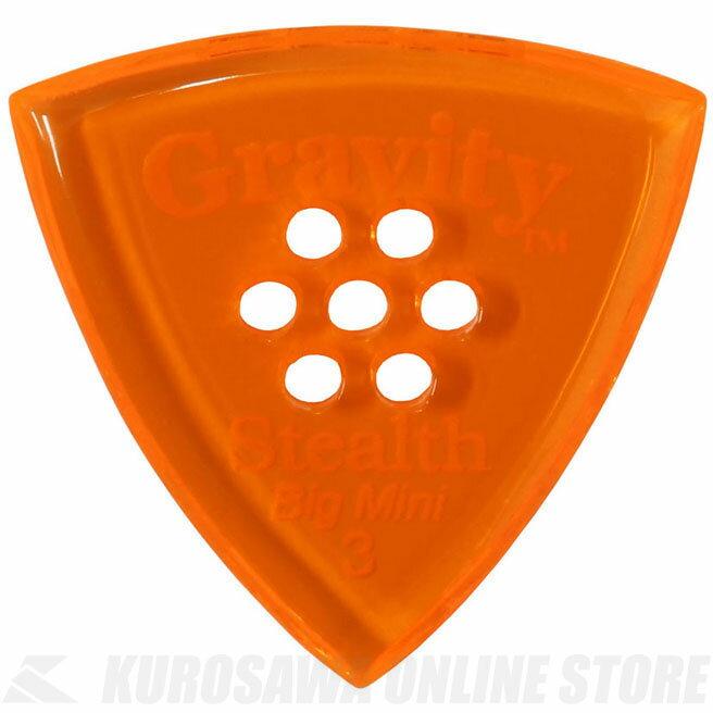 GRAVITY GUITAR PICKS GSSB3PM (3.0 mm with Multi-Hole, Orange) 《ピック》【ネコポス】【ONLINE STORE】