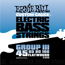 ERNIE BALL #2806 Flatwound Group III Electric Bass Strings《ベース弦》【ネコポス】(ご予約受付中)【ONLINE STORE】
