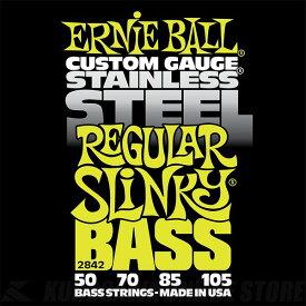 ERNIE BALL #2842 Regular Slinky Stainless Steel Electric Bass Strings《ベース弦》【ネコポス】【ONLINE STORE】