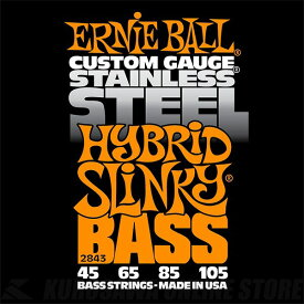 ERNIE BALL #2843 Hybrid Slinky Stainless Steel Electric Bass Strings《ベース弦》【ネコポス】【ONLINE STORE】