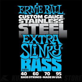 ERNIE BALL #2845 Extra Slinky Stainless Steel Electric Bass Strings《ベース弦》【ネコポス】【ONLINE STORE】