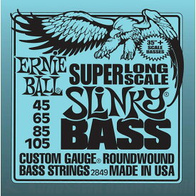 ERNIE BALL #2849 Super Long Scale Slinky Electric Bass Strings《ベース弦》【ネコポス】【ONLINE STORE】