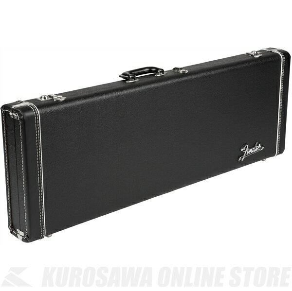 Fender G&G Deluxe Hardshell Cases - Stratocaster /Telecaster (Black with Orange Plush Interior)《ギター用ハードケース》【送料無料】【ONLINE STORE】
