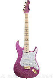 ESP SNAPPER Ohmura Custom 大村孝佳 model (Twinkle Pink/Maple) (エレキギター)(受注生産品)【ONLINE STORE】