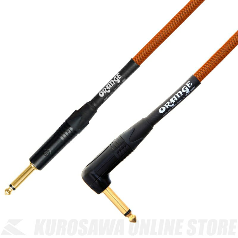 Orange CA-JJ-ANIN-OR-10 / 10ft Inst Cable (S/L) 《シールド》【ONLINE STORE】