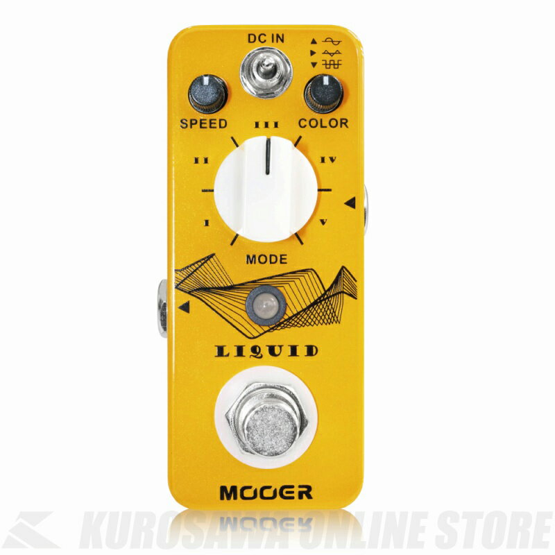 Mooer / Liquid (エフェクター/フェイザー/モジュレーション) 【ONLINE STORE】