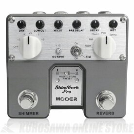 Mooer / Shimverb Pro (エフェクター/リバーブ)(送料無料) 【ONLINE STORE】